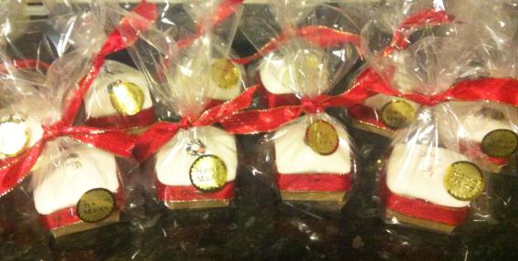 Mini Xmas Cakes