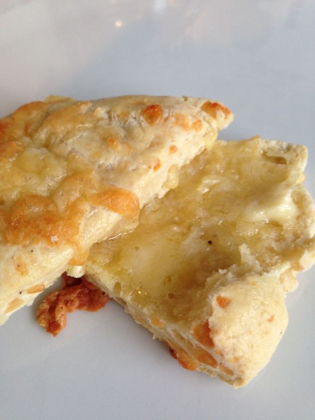 cheese scone butter